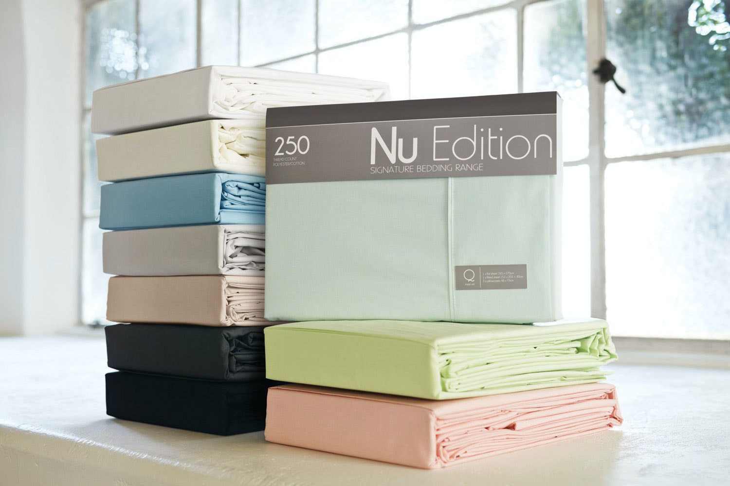 250tc Polycotton Sheet Set by Nu Edition