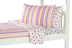 Pink Star Sheet Set