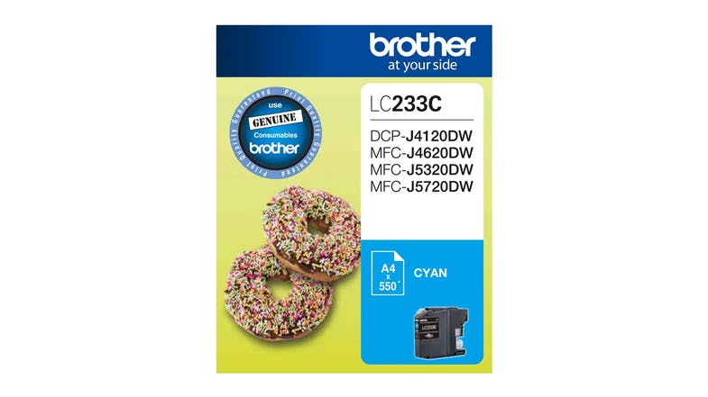 Brother LC233C Ink Cartridge - Cyan