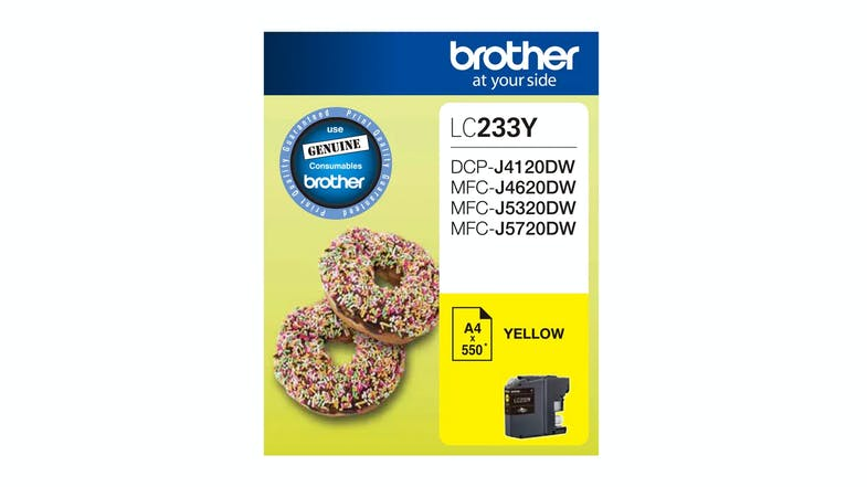 Brother LC233Y Ink Cartridge - Yellow