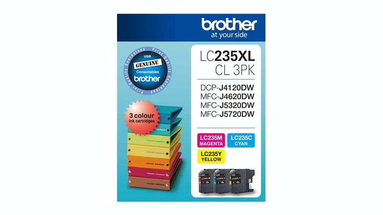 Brother LC235XLCL 3PK Colour Ink Cartridge - 3 Pack