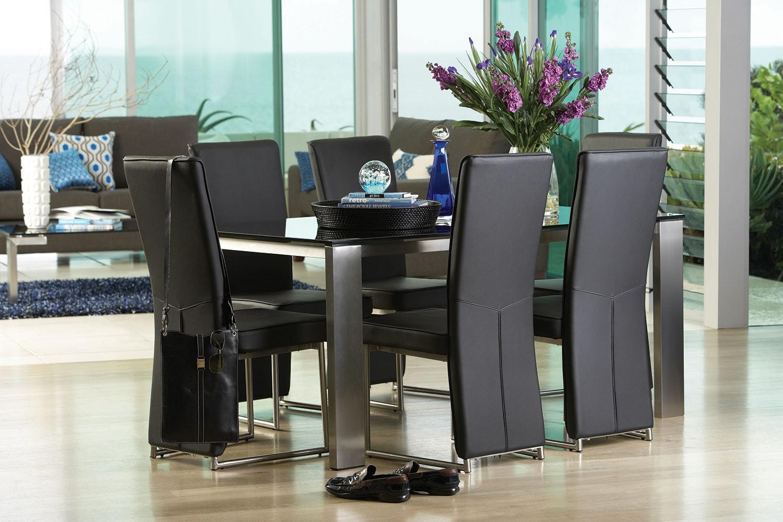 Longitude 7 Piece Dining Suite by Debonaire Furniture