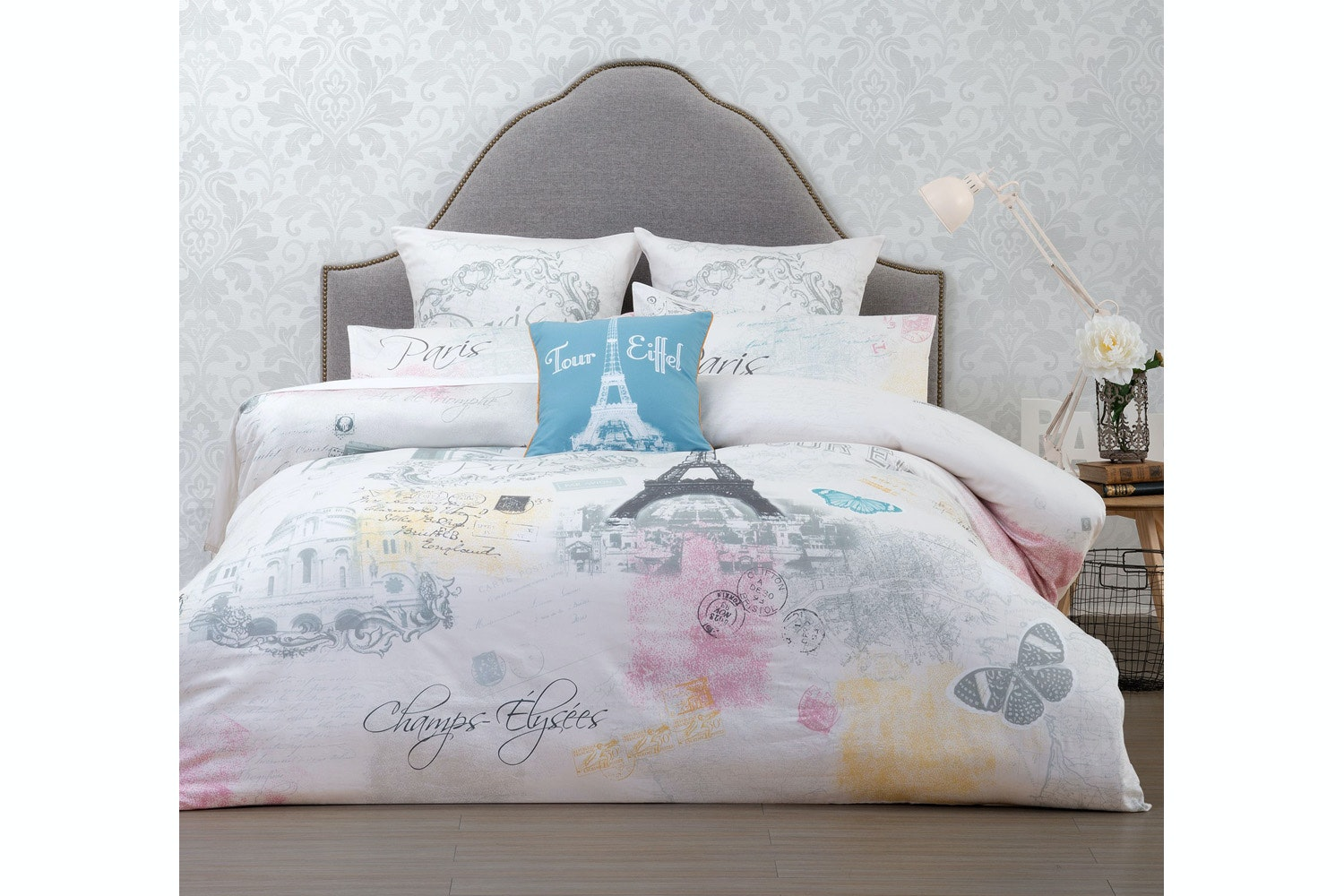 Belle Paris Duvet Cover