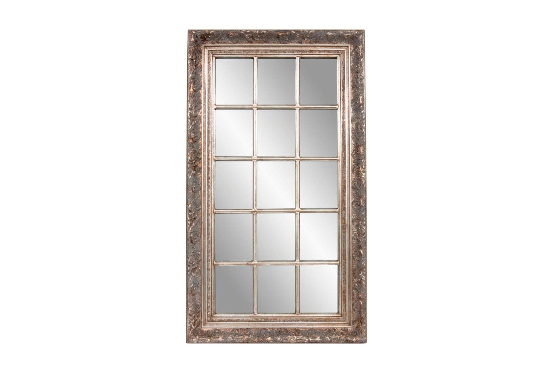 Chippenham Decorative Silver Mirror -  Neko