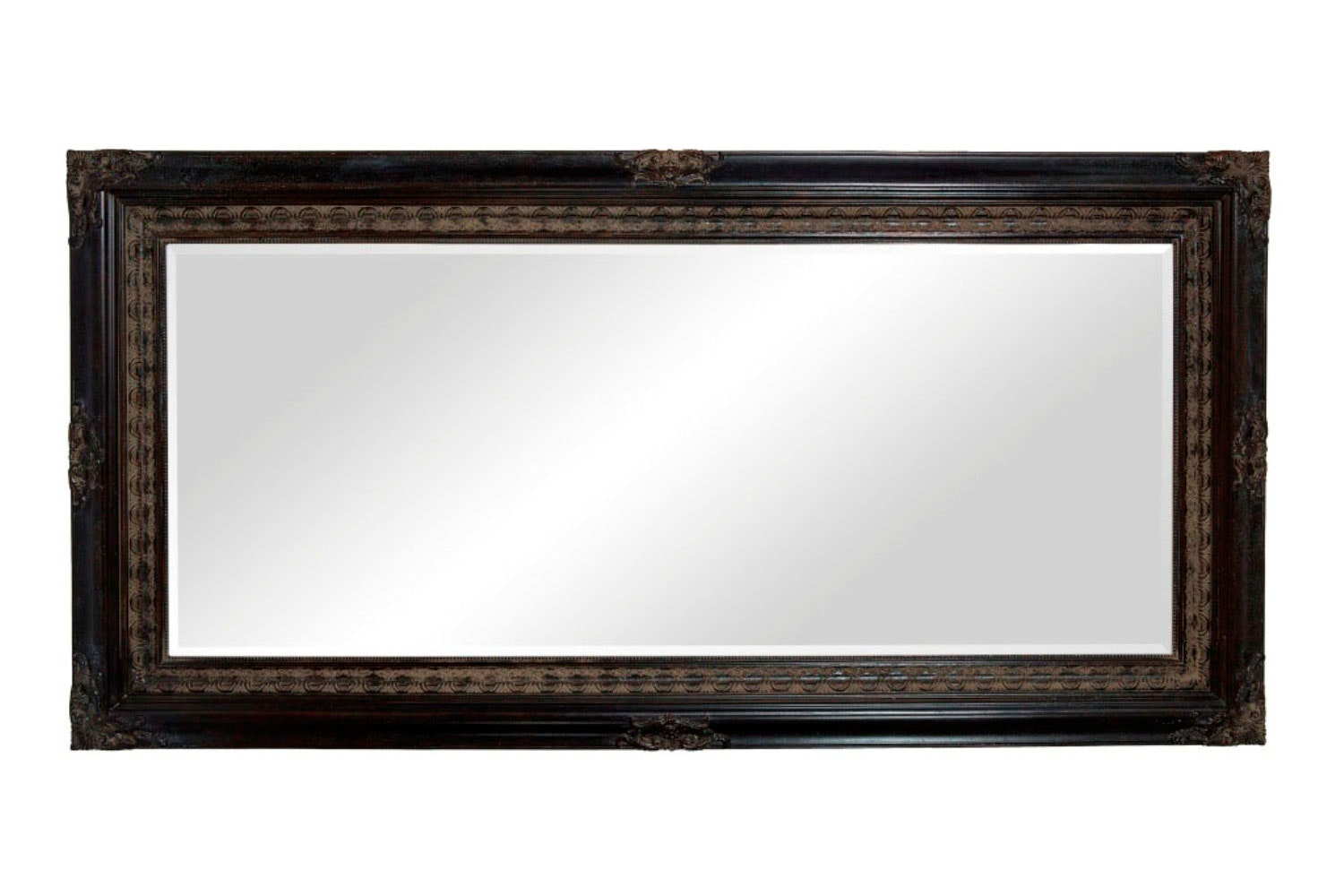 Classic Decorative Mirror - Black -  Nero