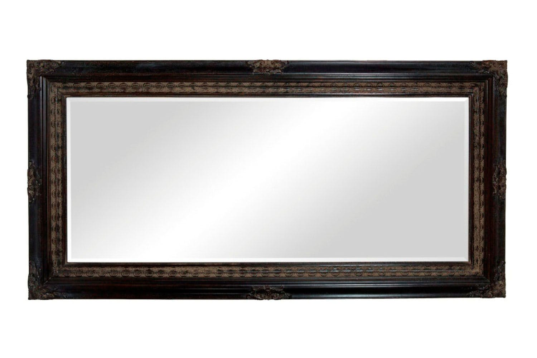 Classic Decorative Mirror Black Nero Harvey Norman New Zealand
