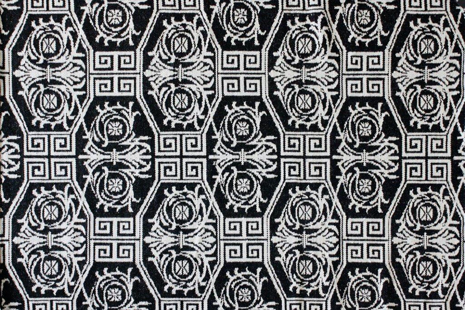 Tunis Floor Rug -  Black