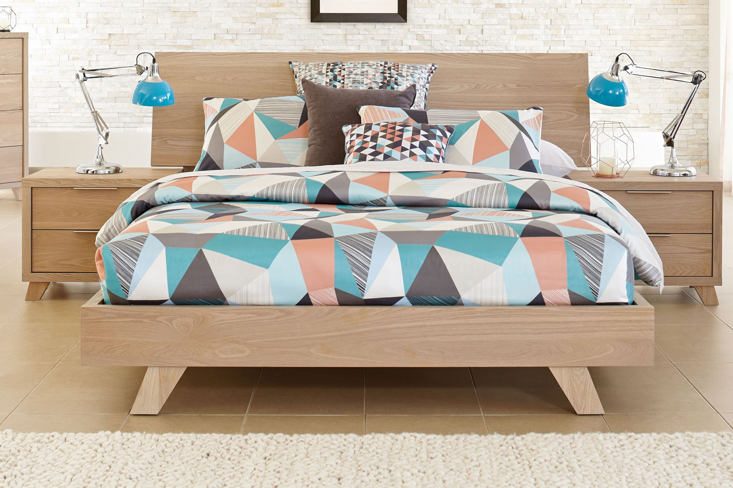 Marvin Queen Bed Frame by Stoke Furniture