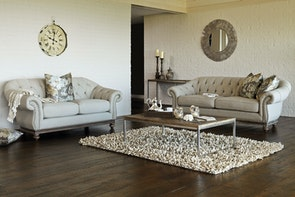 Victoria 2 Piece Lounge Suite by Garry Masters