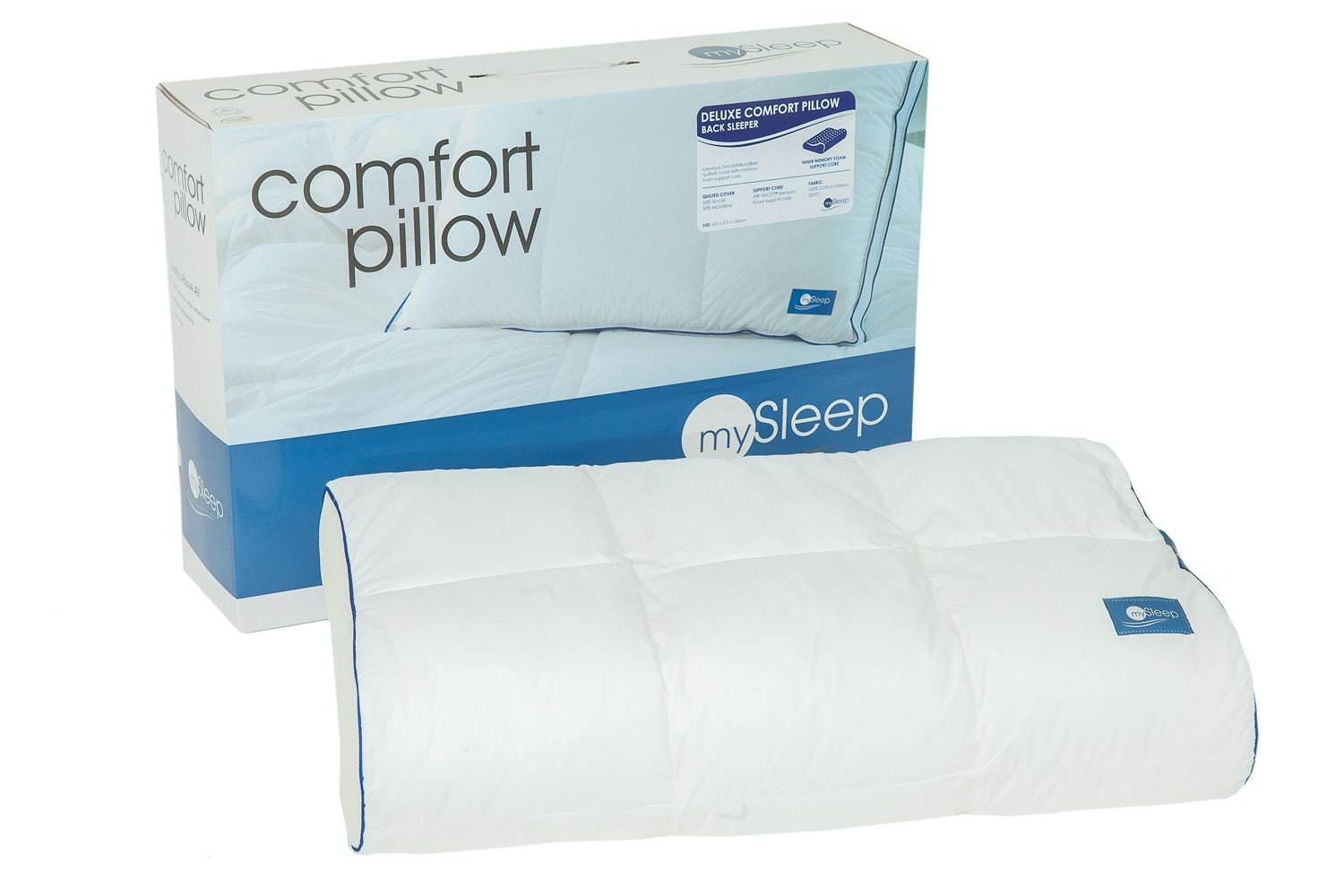 Back Sleeper Deluxe Pillow by Naturex