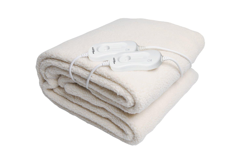 micasa fleecy fitted king size electric blanket harvey. Black Bedroom Furniture Sets. Home Design Ideas