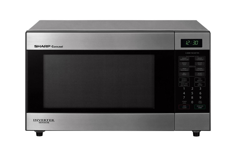 sharp inverter microwave. sharp mid size inverter sensor microwave oven