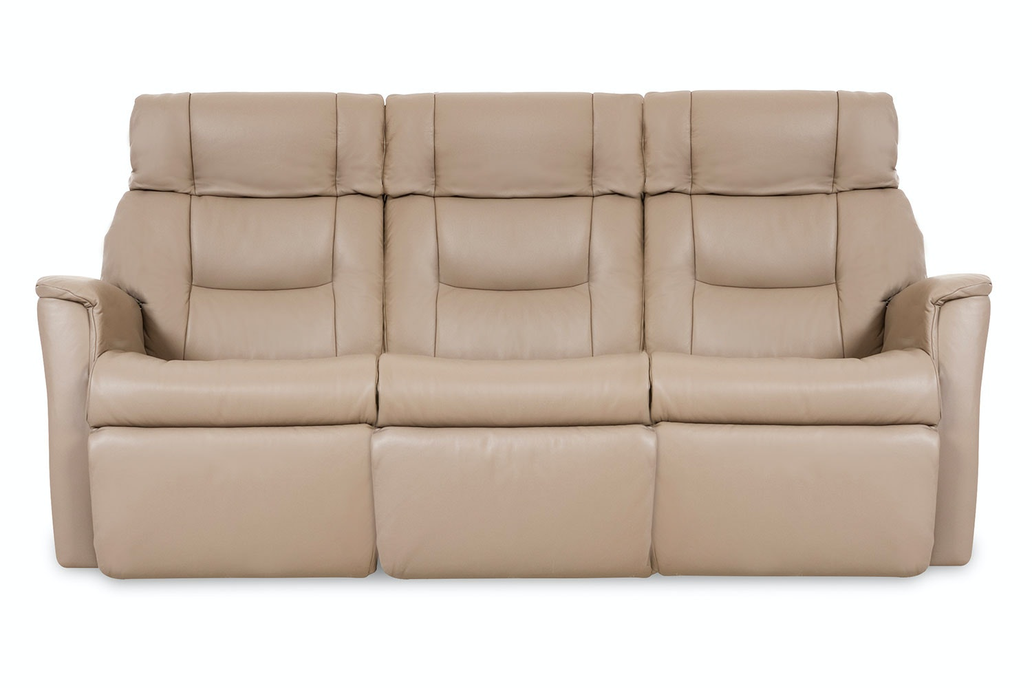 Ventura Leather  3.0 Seat Recliner Sofa - Prime - IMG