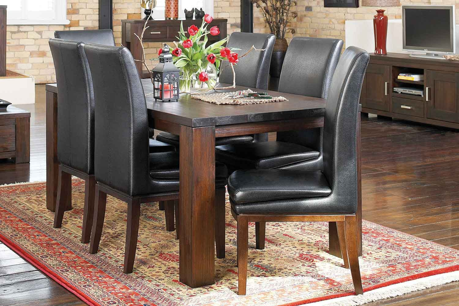 Rustic Heirloom 7 Piece Dining Suite by John Young Furniture