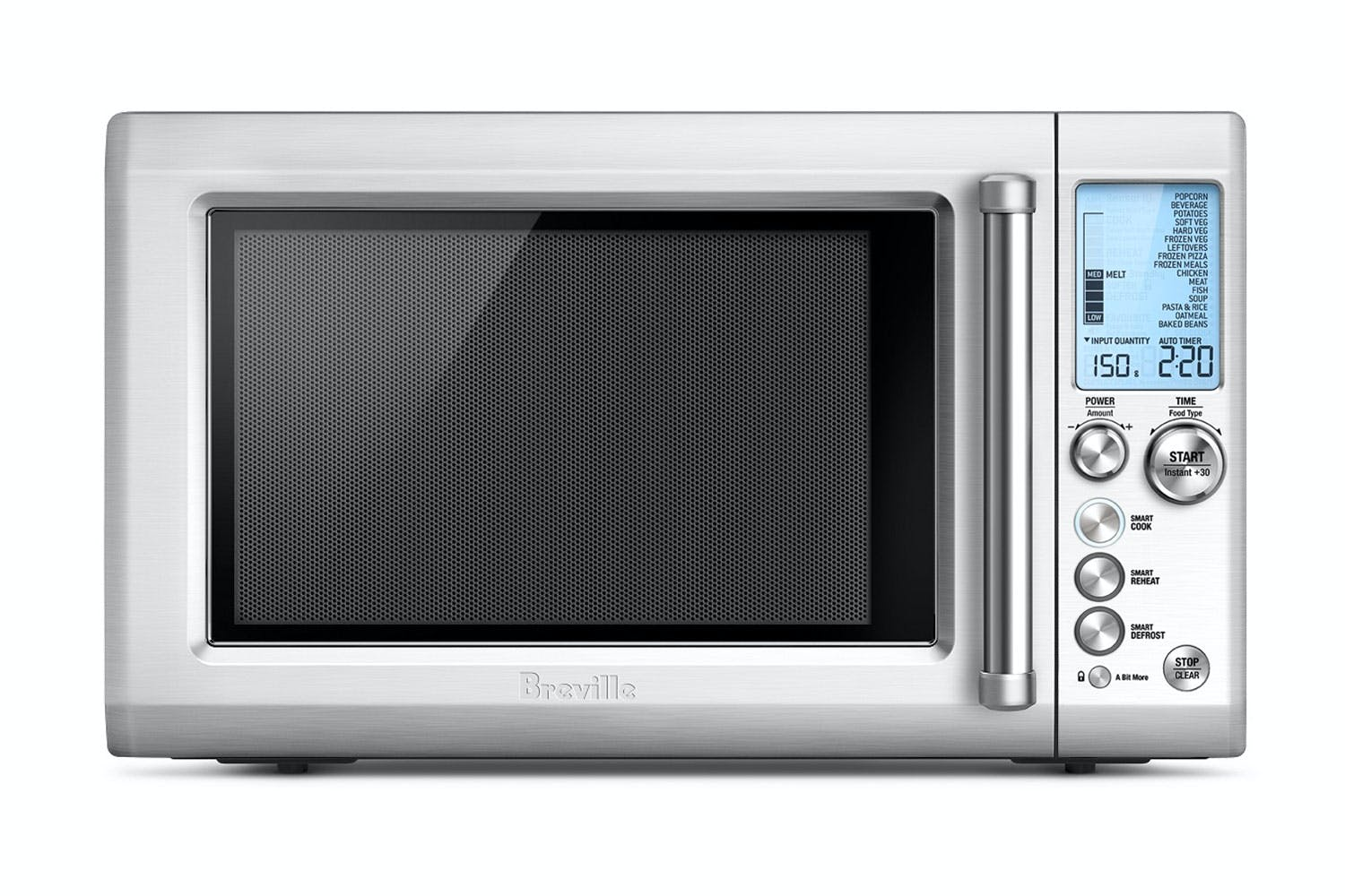 Breville Quick Touch Microwave Oven Stainless Steel