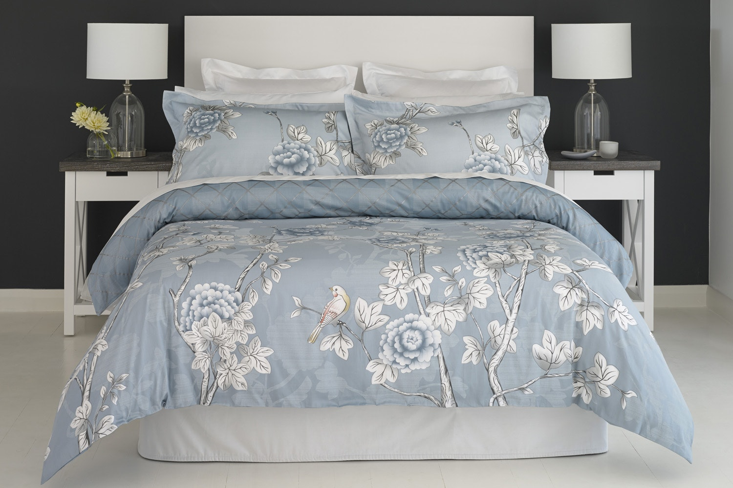 Ice Flower Duvet Cover