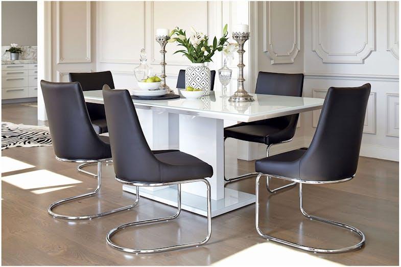 Senti 7 Piece Dining Suite By Insato Furniture Harvey Norman New Zealand
