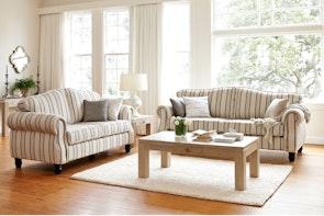Villa 2 Piece Fabric Lounge Suite by Evan John Philp