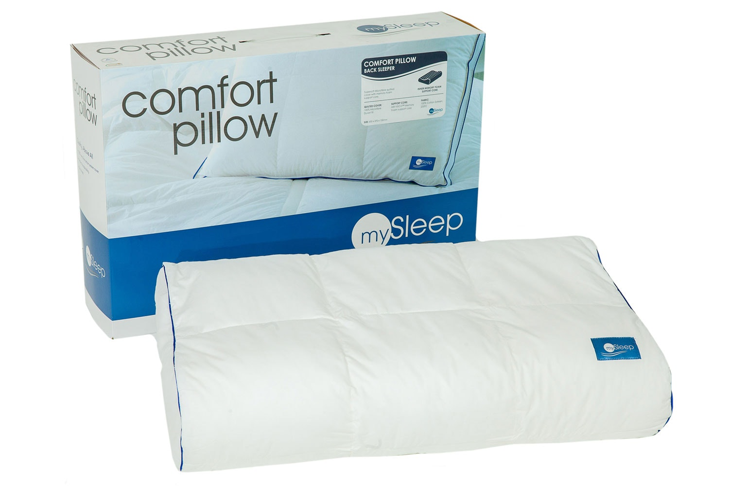 Back Sleeper Pillow by Naturex