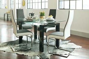Munich 5-Piece Dining Suite by Paulack Furniture