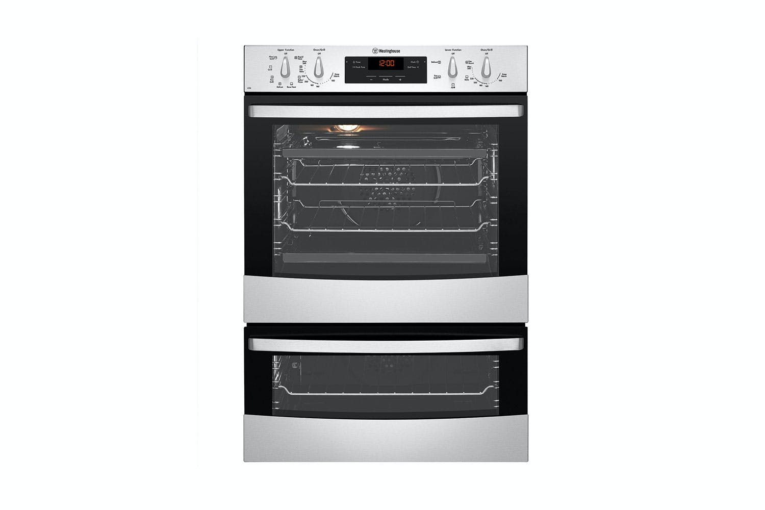 Westinghouse 60cm multifunction duo oven harvey norman new zealand - Westinghouse and living ...