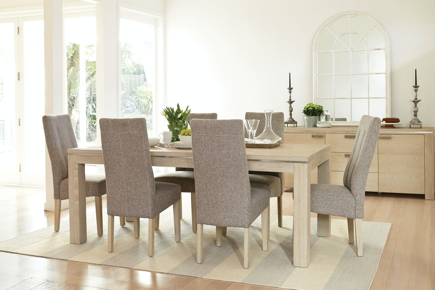 Edminton 7 Piece Dining Suite By Morgan