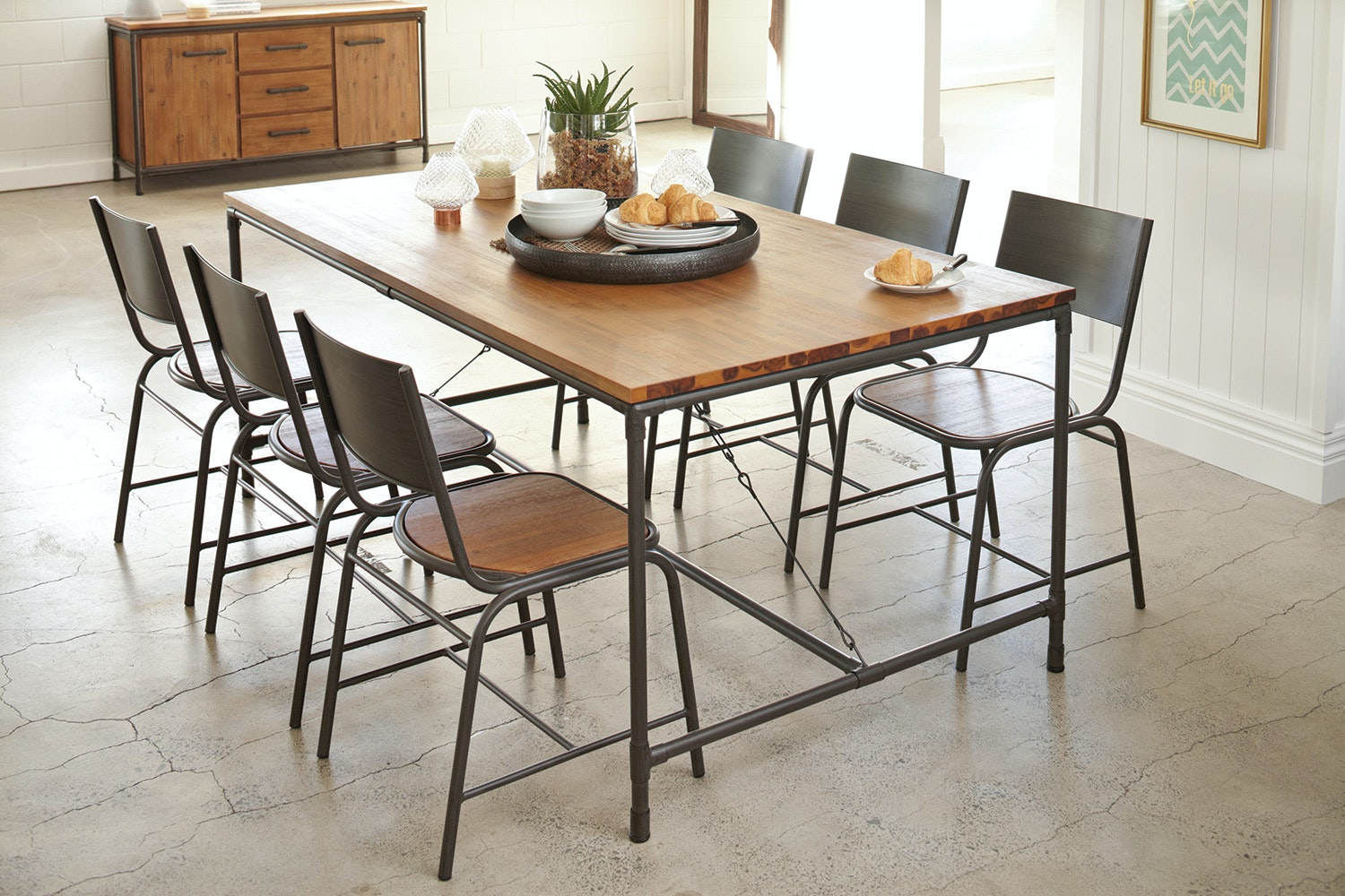 Atelier 7 Piece Dining Suite by Dixie Cummings