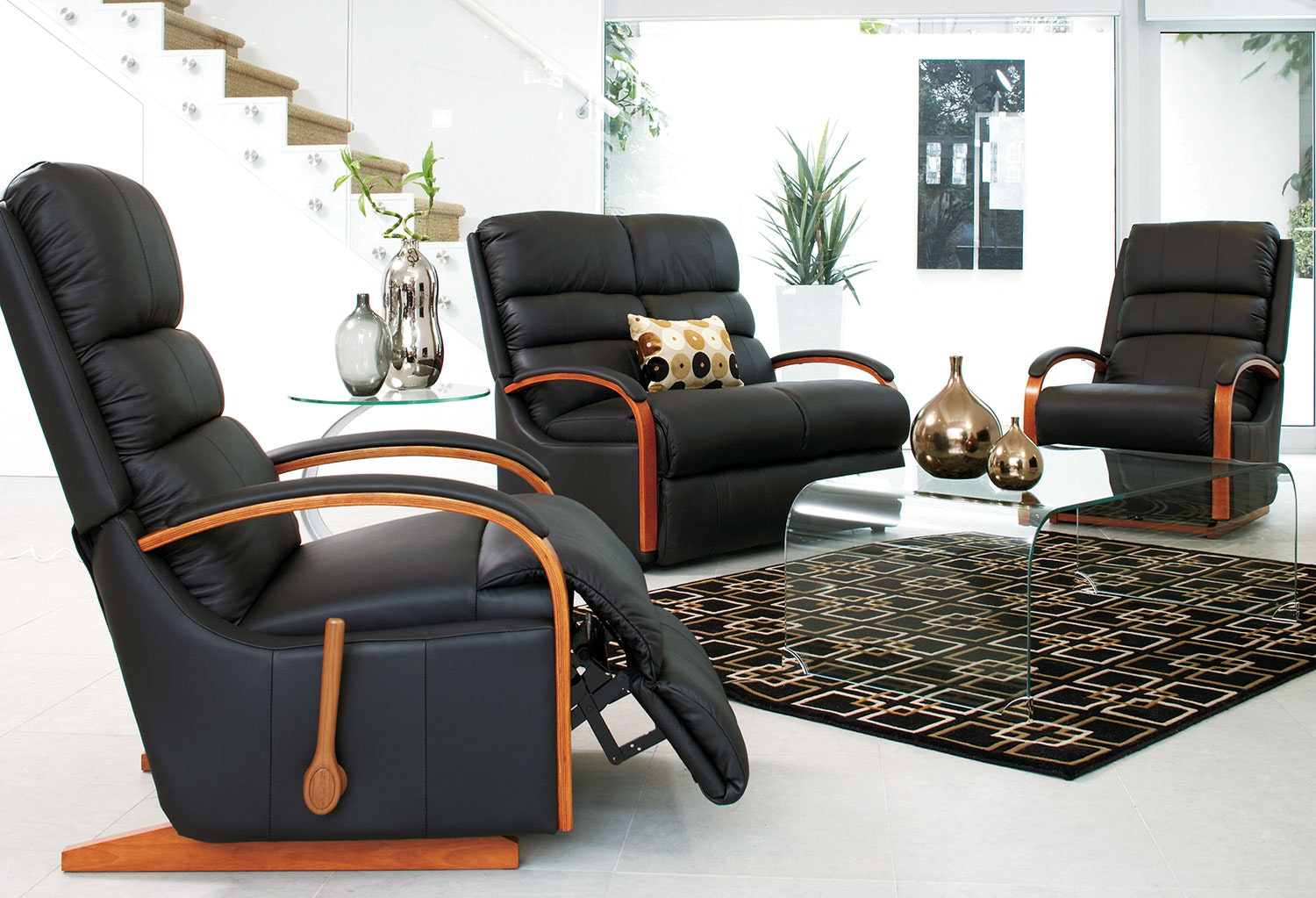 Charleston Leather La-Z-Boy Lounge Furniture by Morgan Furniture
