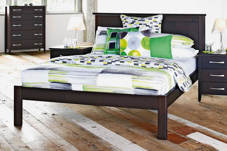 Image of Chicago Double Slat Bed Frame by Coastwood Furniture