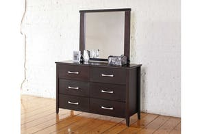 Chicago 6 Drawer Dresser