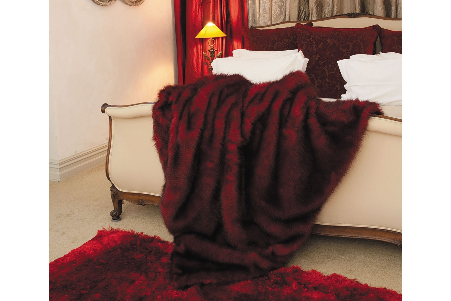 Heirloom Red Pheasant Throw By Heirloom