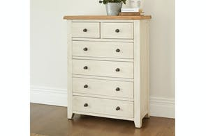 Mansfield 6 Drawer Tallboy by Debonaire Furniture