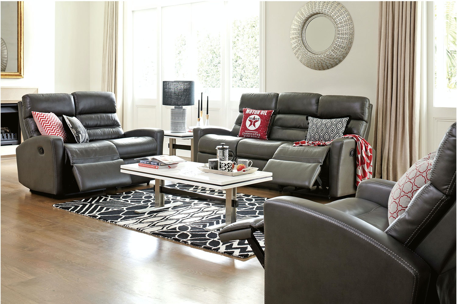 Corsica 3 Piece Recliner Lounge Suite by Synargy