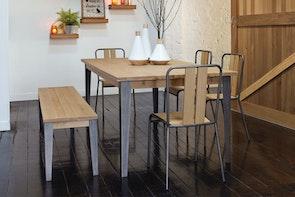 Manhattan 6 Piece Dining Suite by Morgan Furniture