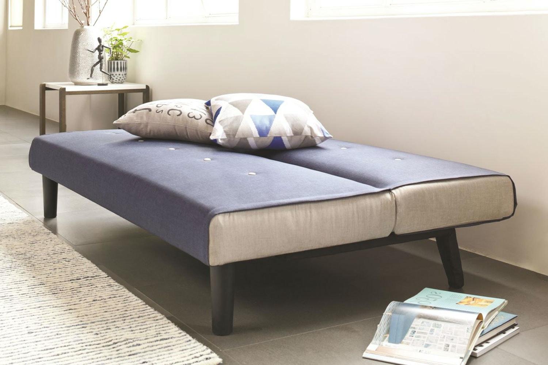 Oslo Sofa Bed - Blue   Harvey Norman New Zealand