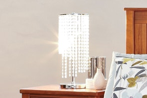 Prestige Crystal String Lamp by Zero Uno