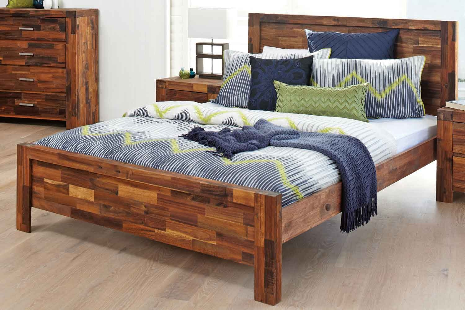Acacia Wood Bed Frame