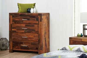Solomon Tallboy by Nero Furniture