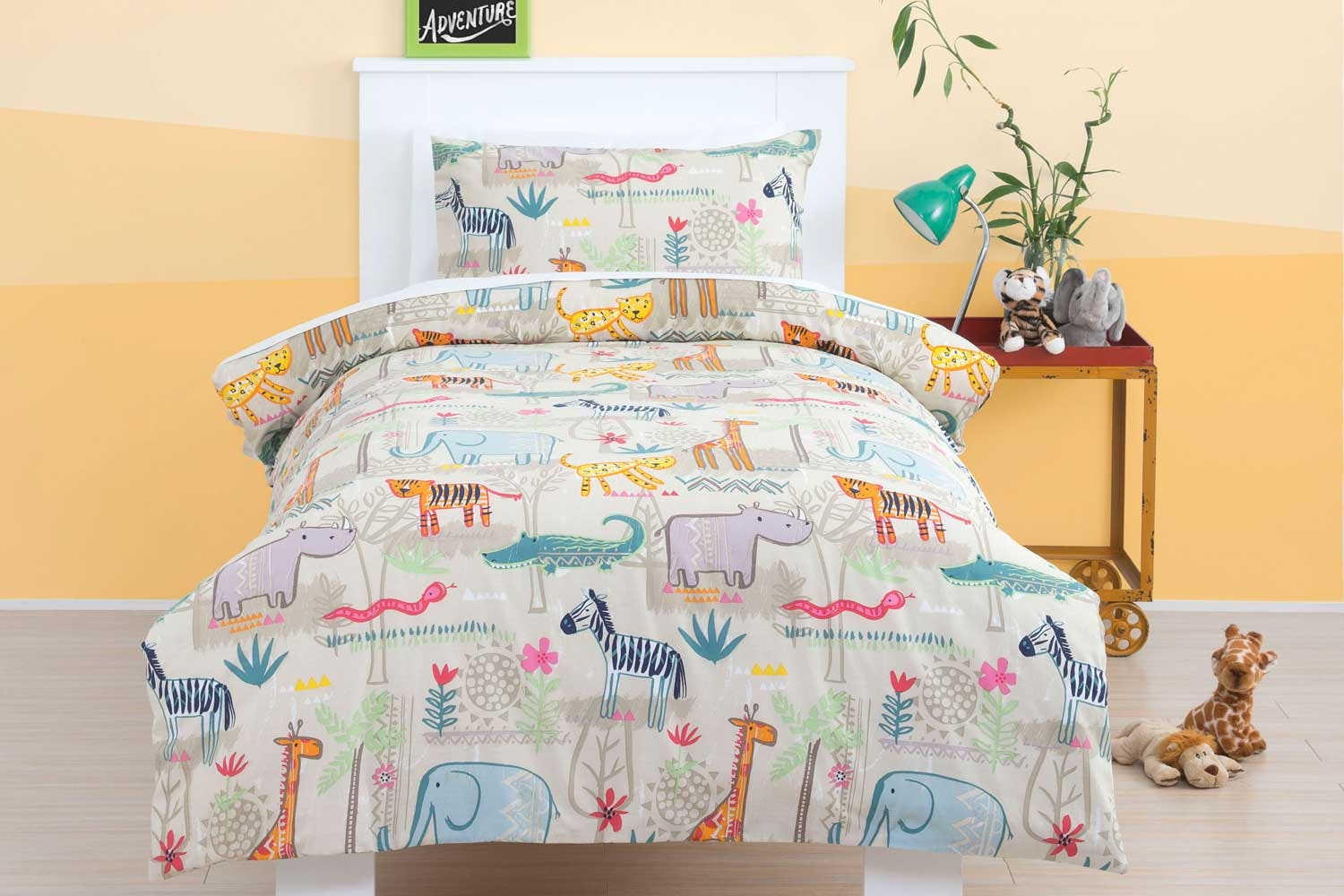 Jungle Duvet Cover Set -Squiggles