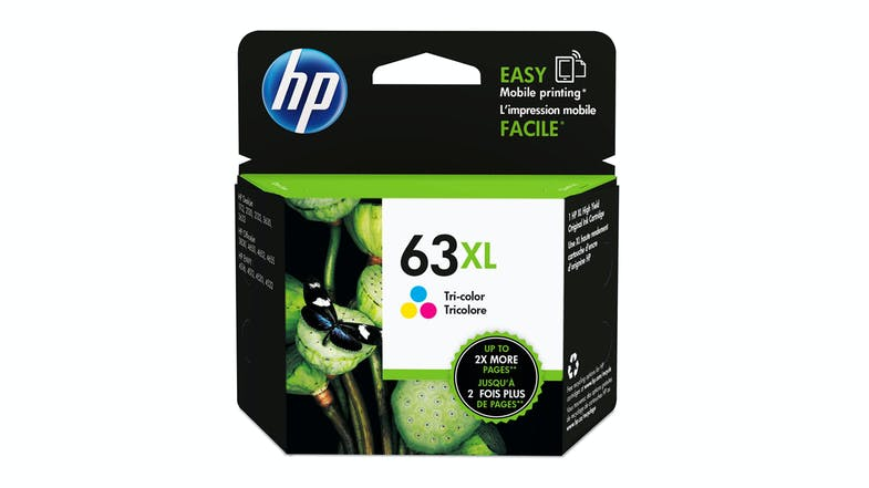 HP 63XL High Yield Ink Cartridge - Tri-Colour