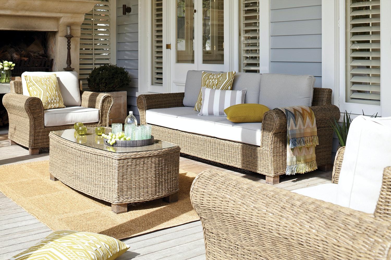 Ashley 4 Piece Outdoor Lounge Suite
