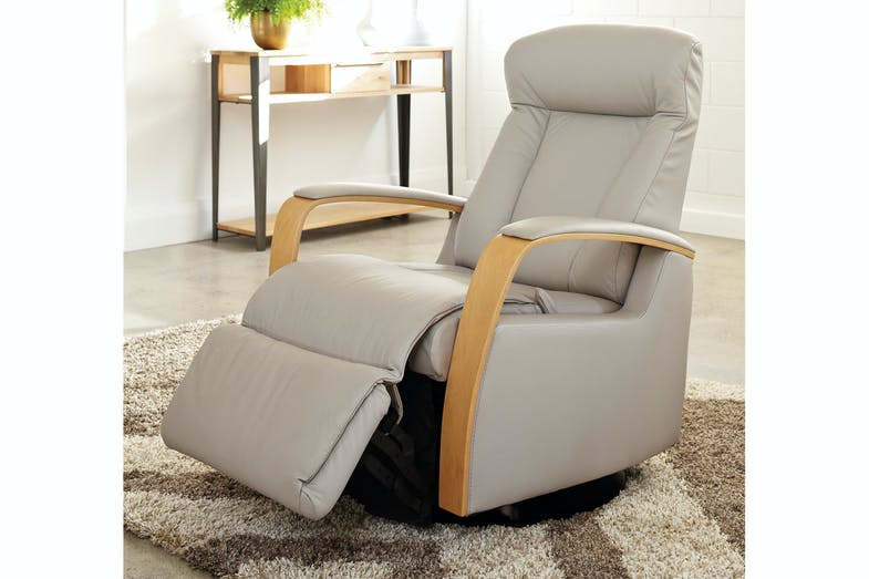Prince Laminate Arm Recliner Chair - Trend Leather - IMG