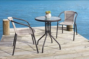 Raven 3 Piece Outdoor Dining Setting
