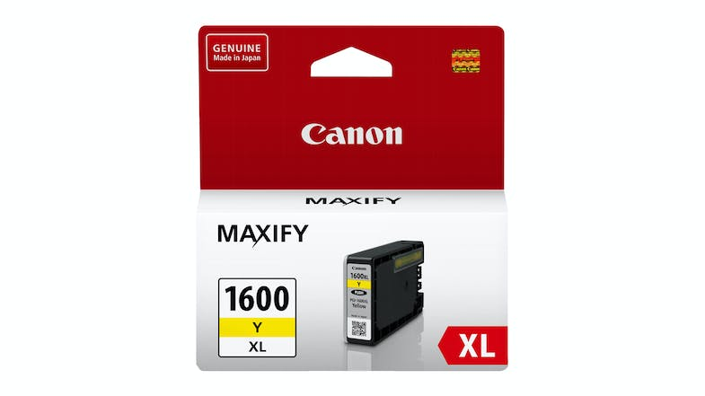 Canon PGI-1600XL Ink Cartridge - Yellow
