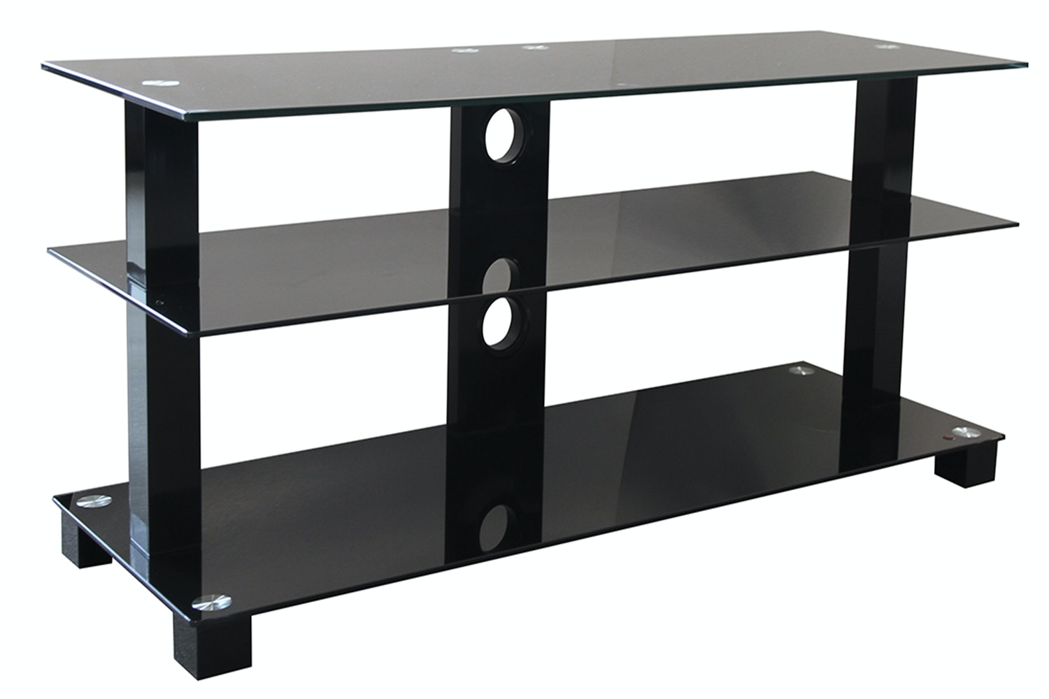 Black TV Shelf - Pudney and lee