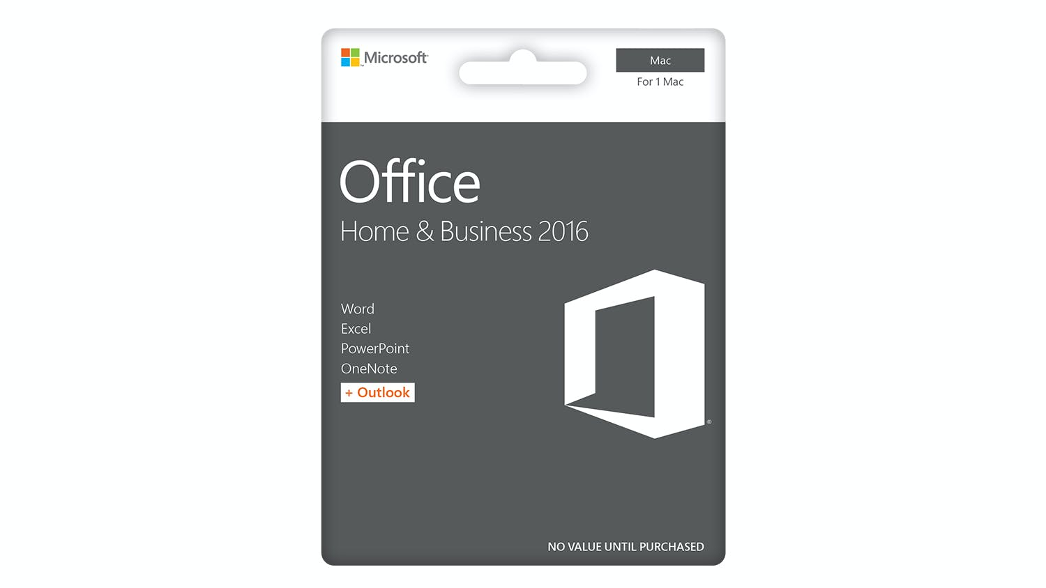 Microsoft Office Home and Business 2016 for Mac | Harvey Norman New ...