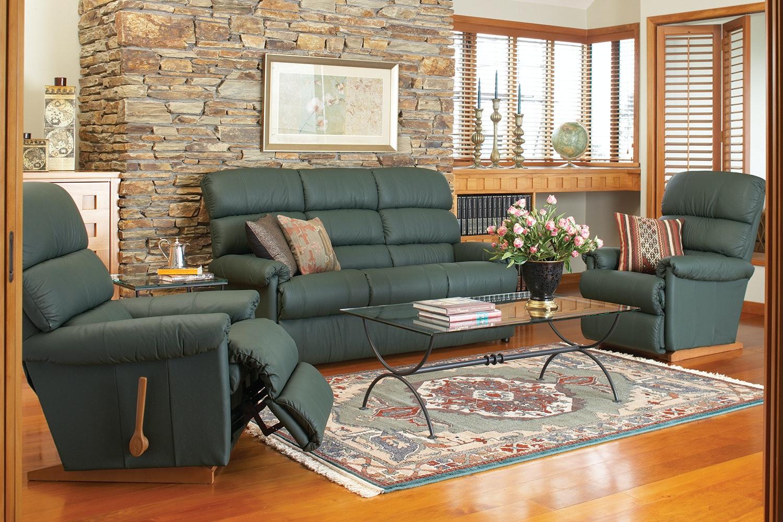 Rialto 3-Piece Leather Recliner Lounge Suite by  La-Z-Boy