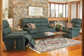 Rialto 3-Piece Leather Recliner Lounge Suite by  La-Z-Boy