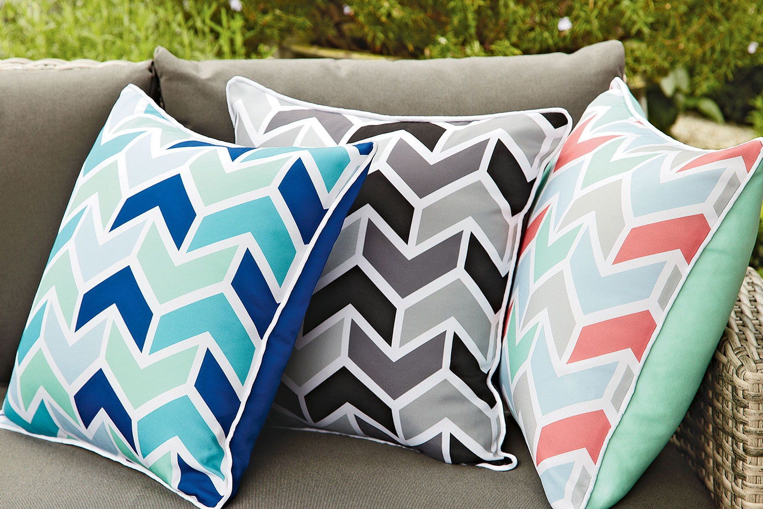 Albatross Outdoor Cushions by Mulberi