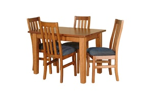 Ferngrove 5 Piece Rectangular Dining Suite by Coastwood Furniture